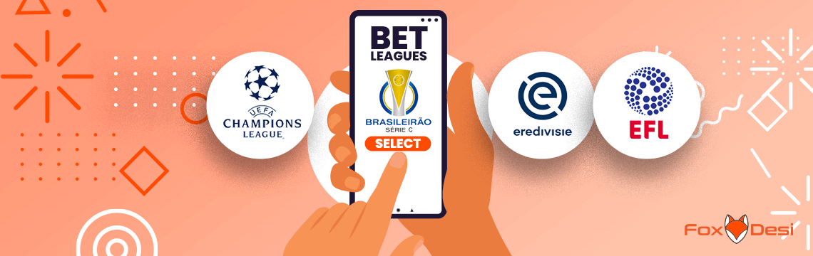 Leagues for which football betting tips is available