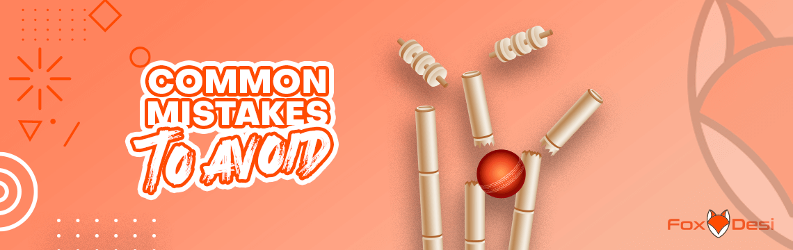 common mistakes in cricket betting